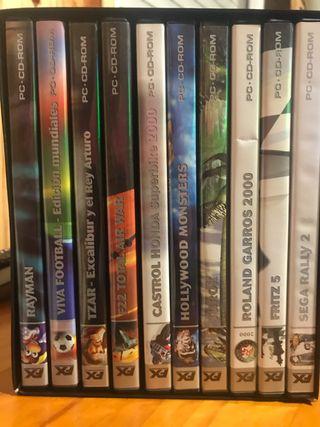 Colección juegos para PC