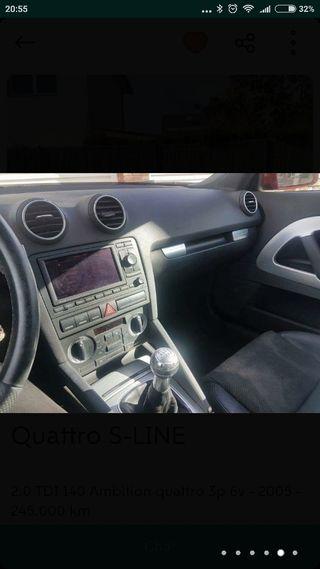 Audi A3 Sline quatro 2.0 TDI