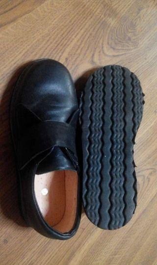Zapatos ortopedia piel