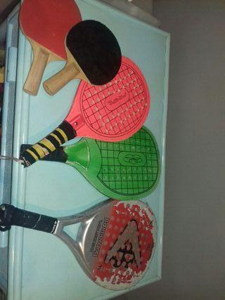 lote raquetas