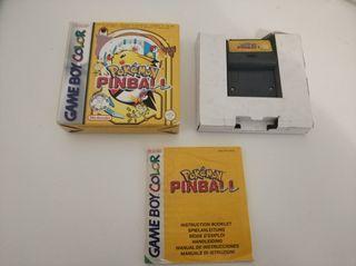 Pokémon pinball game boy color gbc gameboy