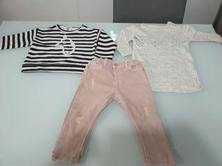 Lote ropa niña 6-12 mesos