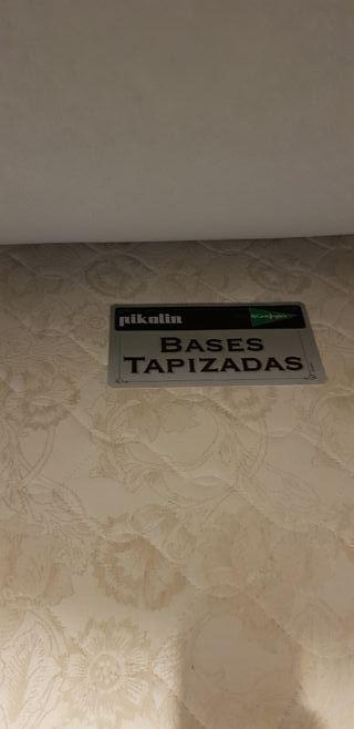 Base tapizada/Canapé abatible