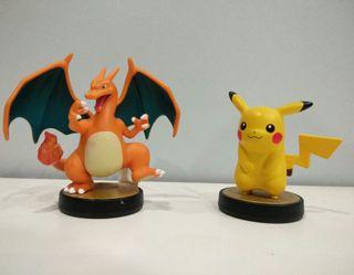 Amiibos - Pikachu y Charizard