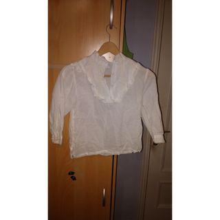 Camisa canaria de niña