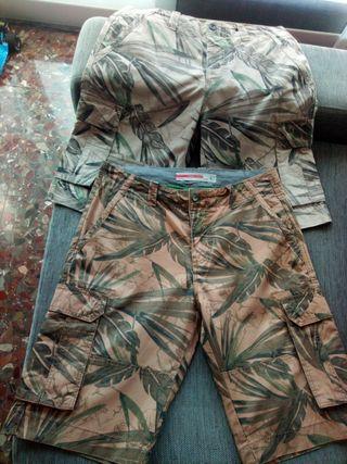 Pantalones cortos t 42,sin estrenar