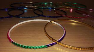 pulseras colores rebajado