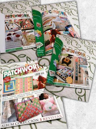 Pack 2 Álbumes Patchwork en casa y Anna&Patch