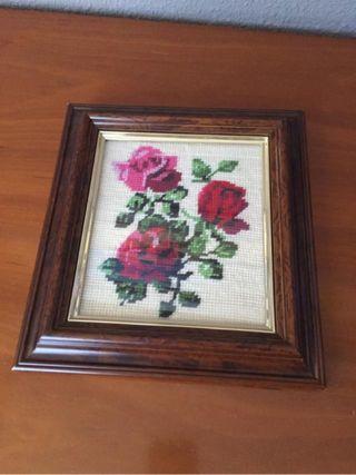 Cuadro rosas