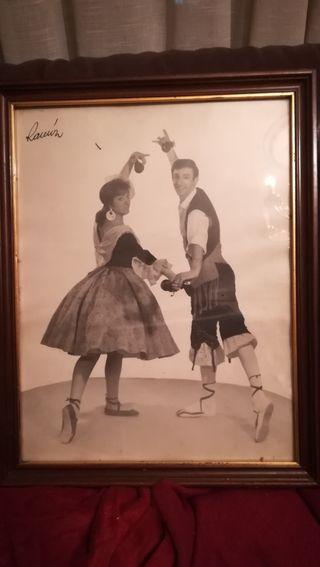 Antigua fotografía folclórica