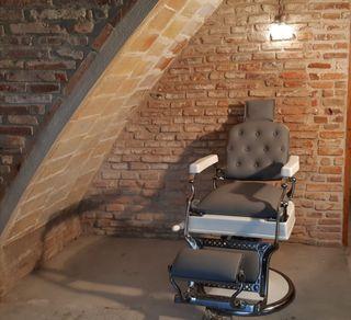 Antiguo sillon barbero jaso