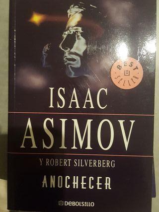 """Libro """"Anochecer"""" de Isaac Asimov"""