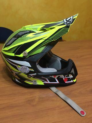Casco motocross KYT