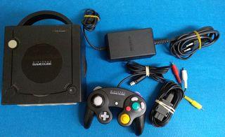 Consola Nintendo Game Cube (negra)