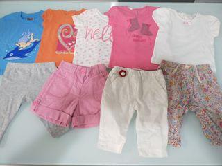 Lote ropa niña 3-6 meses Verano