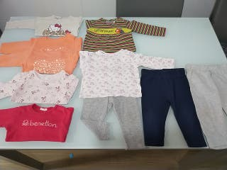 Lote ropa niña 3-6 meses primavera