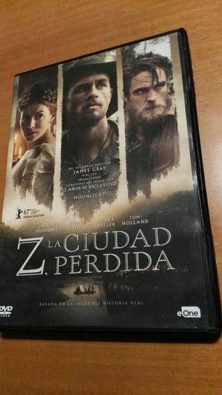 Z la ciudad perdida-Dvd