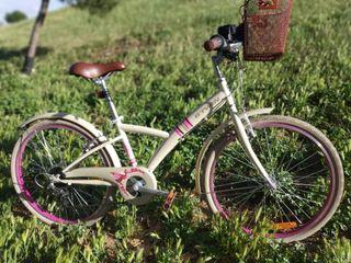 Bicicleta juvenil de niña Decathlon (24 pulgadas)
