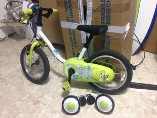 Bicicleta decathlon niño