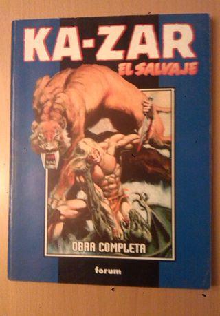 Kazar El Salvaje Retapado. Comic