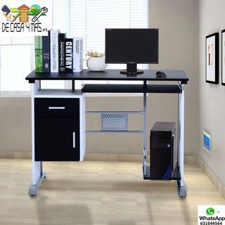 Mesa de Ordenador PC - Despacho-Escritorio 100x52x