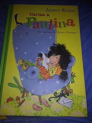 """libro infantil """"cartas a Paulina """""""