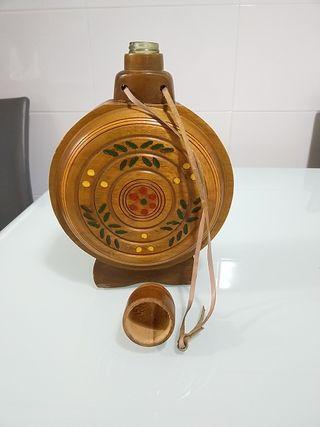 Botella / Cantimplora decorativa