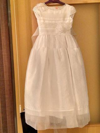 vestido comunión talla 10 Corte Inglés.