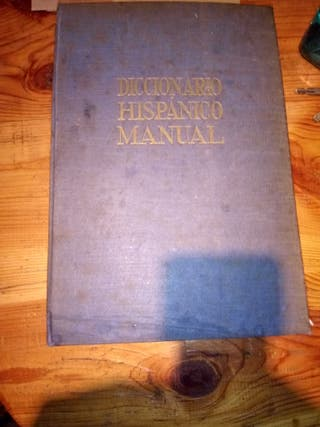 diccionario hispanico manual
