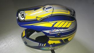 Casco motocross helmet