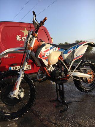 Ktm sixs days Slovakia 125cc
