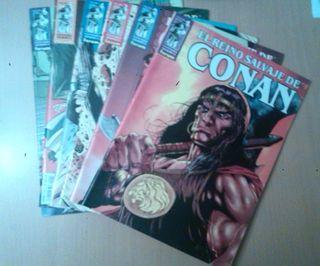 El Reino Salvaje de Conan. 1 al 5. Comic.