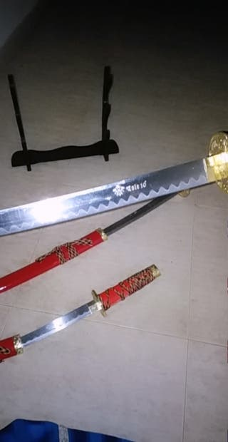 juego de coleccion de samurais dragon