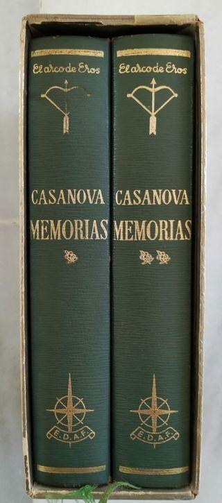 LIBRO: MEMORIAS DE CASANOVA