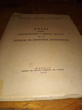 estado mayor central año 1962