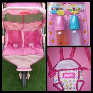 Pack juguetes Nenuco/Baby Born