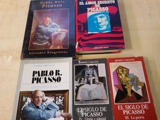 Pablo Picasso ,libros