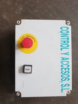 panel de mando