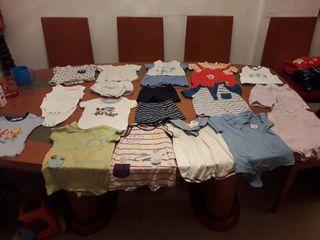 lote ropa verano bebe de 1 a 3 meses