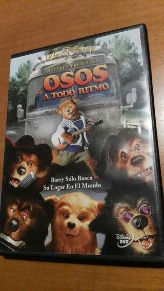 Osos a todo ritmo-Dvd