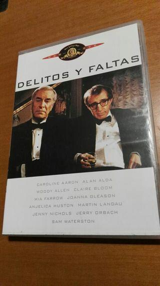 Delitos y faltas-Dvd