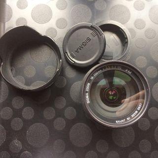 18-200 Sigma DC para Canon