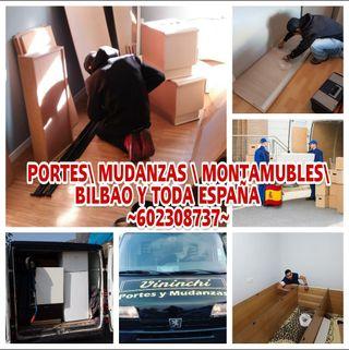 PORTES MUDANZAS Y MONTAMUEBLES