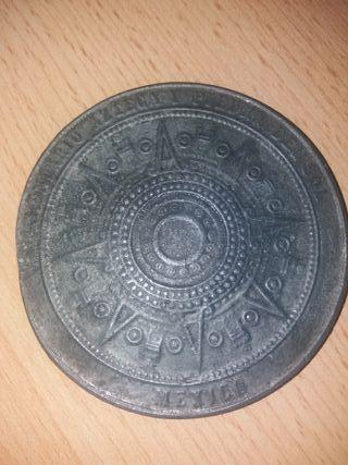 moneda conmemorativa de México