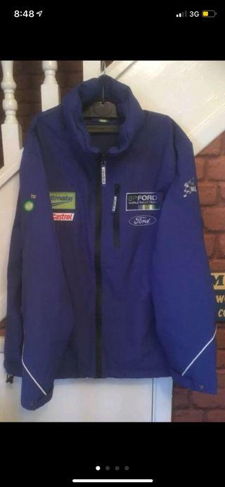 chaqueta cazadora ford BP world rally team