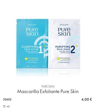 Mascarilla Exfoliante Pure Skin