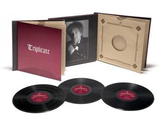 Bob Dylan Triplicate vinilo limitada numerada