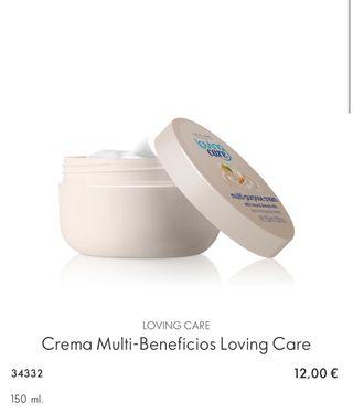 Crema Multi-Beneficios Loving Care
