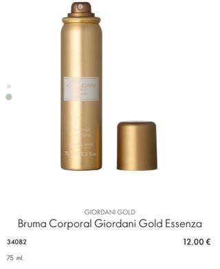 Bruma Corporal Giordani Gold Essenza ORIFLAME
