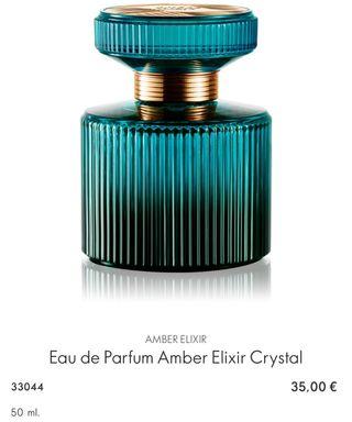 Eau de Parfum Amber Elixir Crystal ORIFLAME